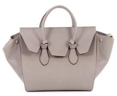 Celine Designer Bag  Tie Knot Tote Grainy Leather Small. Tie Knots 61ab124384298