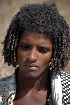 The Beja people are ethnic Cushitic peoples inhabiting Sudan, Egypt, and Eritrea. In recent history, they have lived primarily in the Eastern Desert. We Are The World, People Around The World, Black Is Beautiful, Beautiful People, African Diaspora, Portraits, African American History, World Cultures, Black People