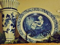 """from: Marsha Johnson England: """"Some of my Blue and White collection"""""""