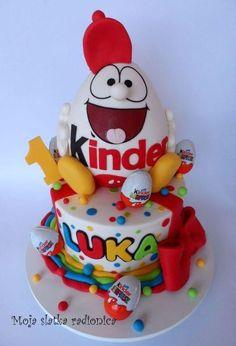 Kinder surprise cake - Cake by Branka Vukcevic
