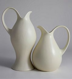 Redwing dinnerware by Eva Zeisel, 1950s, Clean lines and beautiful simplicity. One of my favorite designers.