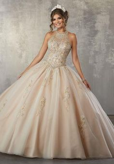 Strapless Ombre Quinceanera Dress by Mori Lee Vizcaya 89161 Mori Lee Quinceanera Dresses, Turquoise Quinceanera Dresses, Champagne Quinceanera Dresses, Wedding Dresses, Sweet 16 Dresses, Pretty Dresses, Beautiful Dresses, Quince Dresses, Ball Gown Dresses