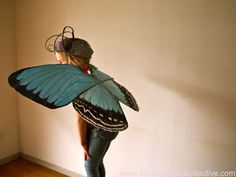 Butterfly Wings by Amber / The Cardboard Collective