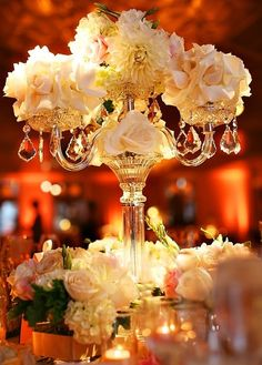pictures of floral arrangement and candlelabras | Events by Evonne, LLC: April 2008