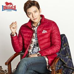 Ji Chang Wook for Lonsdale 2015