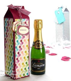 Stampin Up Champagne Box Tutorial