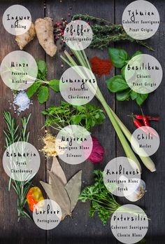 #wineguide #herbs and #wine