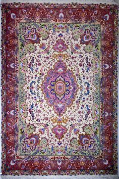 Tabriz Silk Persian Rug Retail Price: $8,900.00  You Save: 67% ($6,000.00)  Item#: 12  Category: Small(3x5-5x8) Persian Rugs  Design:   Size: 210 x 150 (cm)      6' 10 x 4' 11 (ft)  Origin: Iran  Foundation: Silk  Material:   Weave: 100% Hand Woven  Age: Brand New  KPSI: 550  You Pay :$2,900