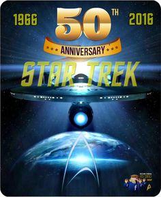 Star Trek 50th anniversary 1966-2016