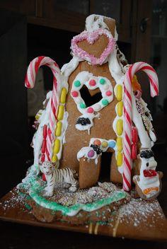 Make you own Christmas-Tiger-House