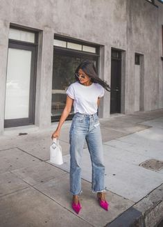 Look Stylish Every Day With This Fashion Advice – Fashion Trends Look Fashion, Fashion Outfits, 50 Fashion, Fashion Styles, Womens Fashion, High Fashion, Look Blazer, Mode Jeans, Neue Outfits
