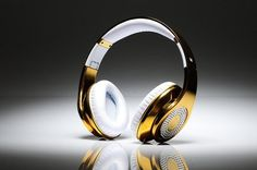 Golden Beats headphones