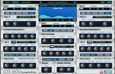 Free VST - GTX-MOD synthesizer http://www.vstplanet.com/News/2014/Free-VST-GTX-MOD-synthesizer.htm