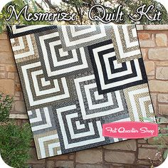 Mesmerize Quilt Kit Featuring Little Black Dress 2 by BasicGrey - I designed this quilt for Basic Grey. I kinda love it! -Natalia Bonner