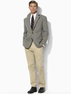 Herringbone Sport Coat - Polo Ralph Lauren Sport Coats - RalphLauren.com