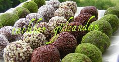 Biscuit zoete ballen - Food & Drink The Most Delicious Desserts – Culture Trip Choco Truffle, Mini Cheesecake Cupcakes, Pasta Cup, Delicious Desserts, Dessert Recipes, Easy To Cook Meals, Chicken Gyros, Turkish Recipes, Sweet Cakes