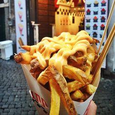 Potatoes + Cheese Overload.