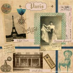 @graphicsfairy bestowed upon PIcMonkey this step-by-step tutorial on creating digital scrapbooking projects using vintage graphics and your own photos.