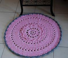 Bergamotka: Różowy, dziewczęcy dywanik