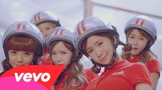 """OMG. This KEPT popping up as an ad-and I never listen to stuff like this-but it's so freaking catchy. It's gonna be in my head for days! haha """"Crayon Pop-Bar Bar Bar"""""""