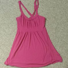 Pink tank top Good condition. Tops Tank Tops