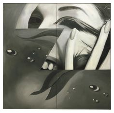 From Walker Art Center, James Rosenquist, Zone Oil on two canvas sections Pop Art Artists, Sitting Poses, New Art, Artsy, Walker Art, Canvas, Artwork, Anime, Art Things