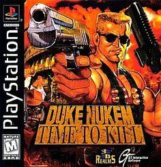 Duke Nukem: Time to Kill (Sony PlayStation 1 PS 1 RARE video game