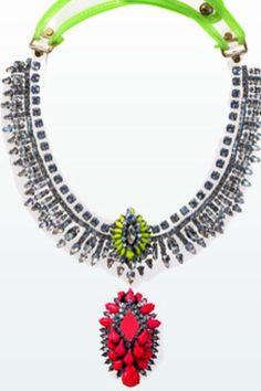 Stunning New Season 2014 Necklace from Zara.com