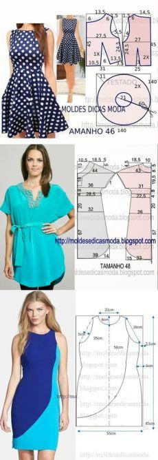 podruzhkii.ru Peplum, Couture, Tops, Women, Fashion, Molde, Tips, Flower, Moda