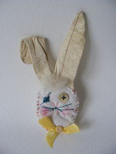 .. beryl bunny brooch → Hens Teeth