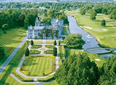 Ein Luxusschloss steht in Irland zum Verkauf: Adare Manor