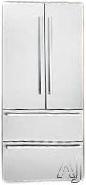 """Liebherr HCB2062 36"""" Fully Integrated French Door Refrigerator with Glass Shelves, BioFresh Drawers, LED Light Columns, Duo Cooling System, Ice Maker and Panel Ready"""