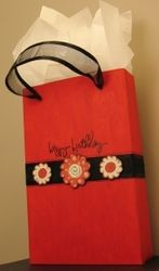 Cereal box gift bag and other recycle ideas
