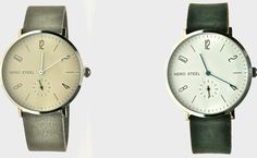 ACCESSORIES & JEWELLERY: NERO steel watches by Carriage & Co