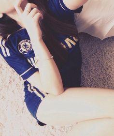Chelsea Girl Chelsea Girls, Chelsea Fc, Football Girls, Soccer Fans, Blue Dream, Couple Photography, Snapchat, Milan, Blues
