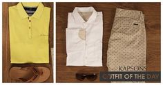 Get dressed to make the world skip a beat... #OutfitOfTheDay #Kapsons #FashionForMen #Menswear #LookStylish