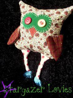 Floral Owl by StargazerLovies on Etsy, $20.00