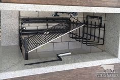 An outdoor kitchen can be an addition to your home and backyard that can completely change your style of living and entertaining. Outdoor Oven, Outdoor Cooking, Diy Grill, Bbq Diy, Asado Grill, Classic Kitchen Cabinets, Built In Braai, Smoke Grill, Inside Home