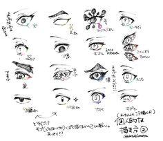 Anime Demon, Sketches, Slayer Anime, Drawing Tutorial, Sketch Mouth, Anime Eyes, Anatomy Reference, Anime Drawings, Manga Eyes