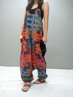 Philly harem jumpsuit 258.2 by thaitee on Etsy, $45.00