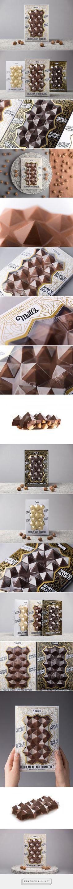 Meltz Chocolates packaging design by Foxtrot Design Studio - http://www.packagingoftheworld.com/2018/01/meltz-chocolates.html