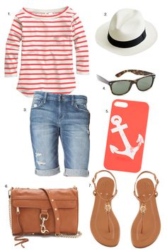 summer outfit -- maybe this summer I'll try he fedora trend... Maybe.