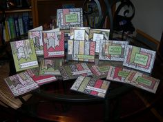 "The Tuesday Tutorial over on the Stars and Stamps  blog yesterday was a lesson on turning one 6"" x 6"" pad into several cards.  When I fi..."