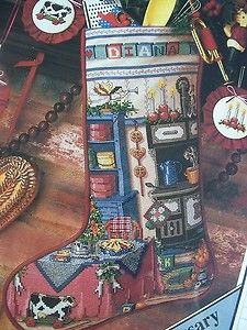 Holiday Kitchen Stocking Heirloom Christmas Stocking Better Homes and Gardens