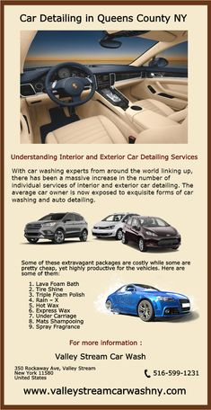 Car detailing services provided by valley stream car wash ny are the with advancements in technology over the past few years car detailing in queens county ny has taken a new shape and form simple waxing and interior solutioingenieria Images
