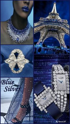 Blue and Silver By Sammie R