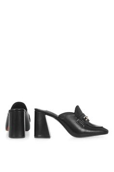 GRADE Loafer Mules - Shoes- Topshop