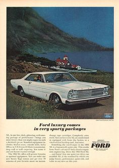 1966 Ford Galaxie 500 XL Hardtop - picture for you Ford Galaxie, Ford Classic Cars, Best Classic Cars, Old Fords, Vintage Cars, Vintage Auto, Car Advertising, Us Cars, Car Ford