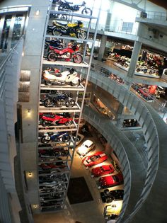 At Birmingham Alabama's incredible motorcycle and car collection