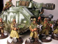 Warhammer Imperial Guard, 40k Imperial Guard, Warhammer 40k Memes, Warhammer Models, Ice Warriors, Tanks, Gaming, Miniatures, Top